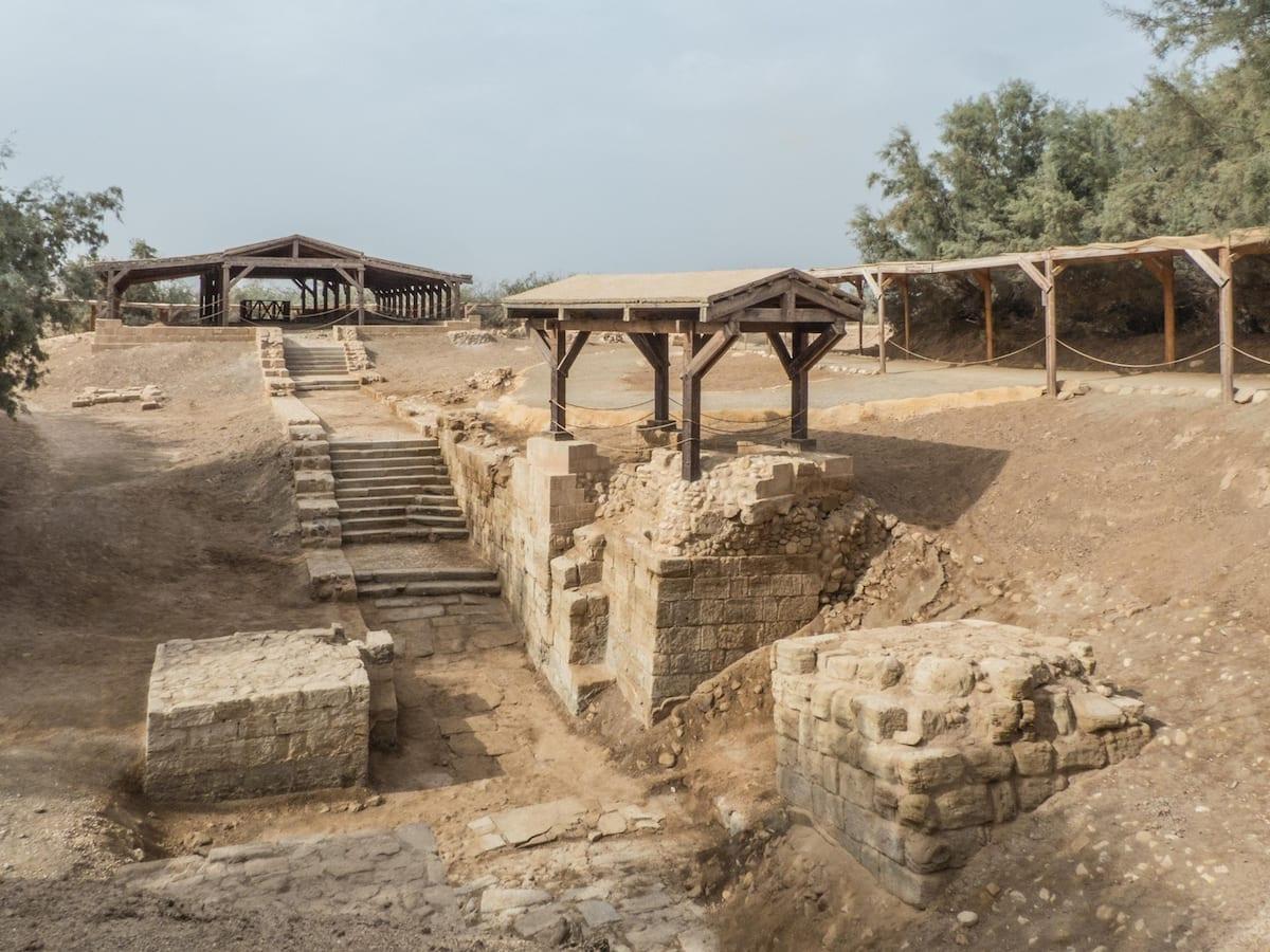 Sehenswürdigkeiten in Jordanien - Taufstelle Jesu Baptism Site