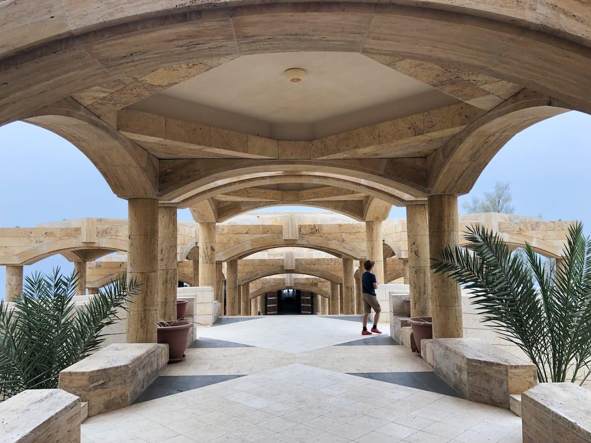 Sehenswürdigkeiten in Jordanien mit Kind - Dead Sea Panoramic Complex