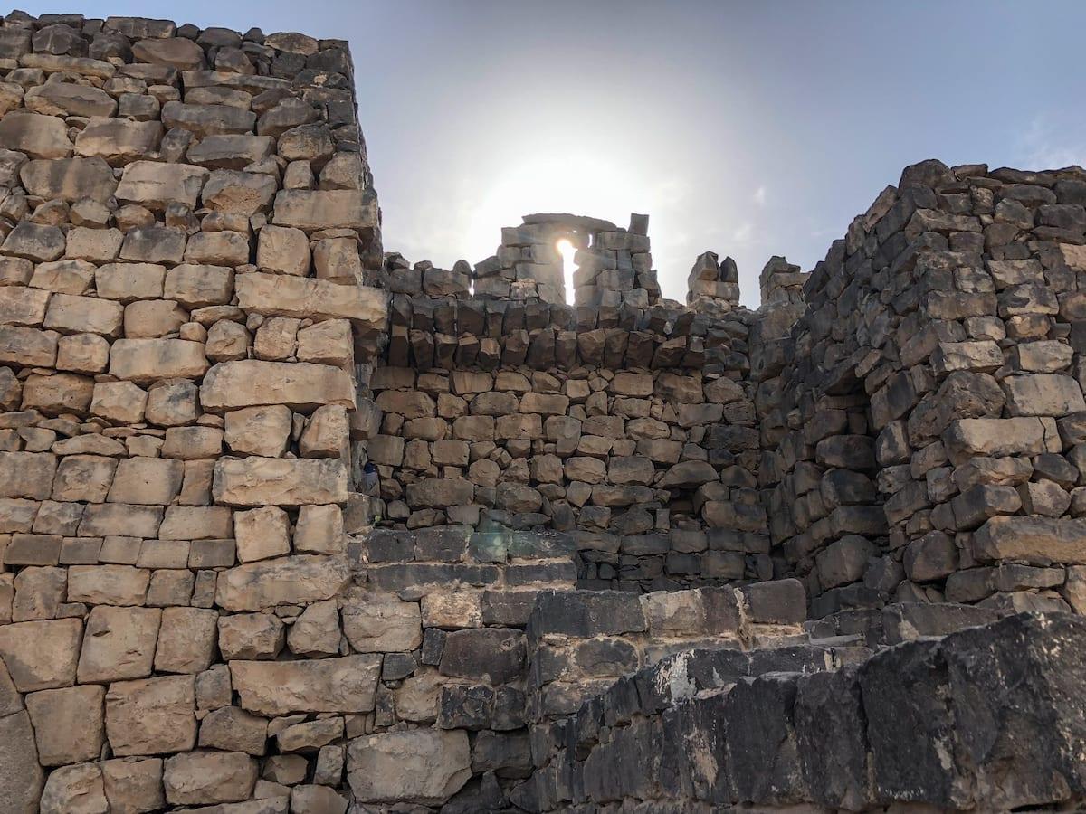 Sightseeing in Jordanien mit Kind - Wüstenschlösser