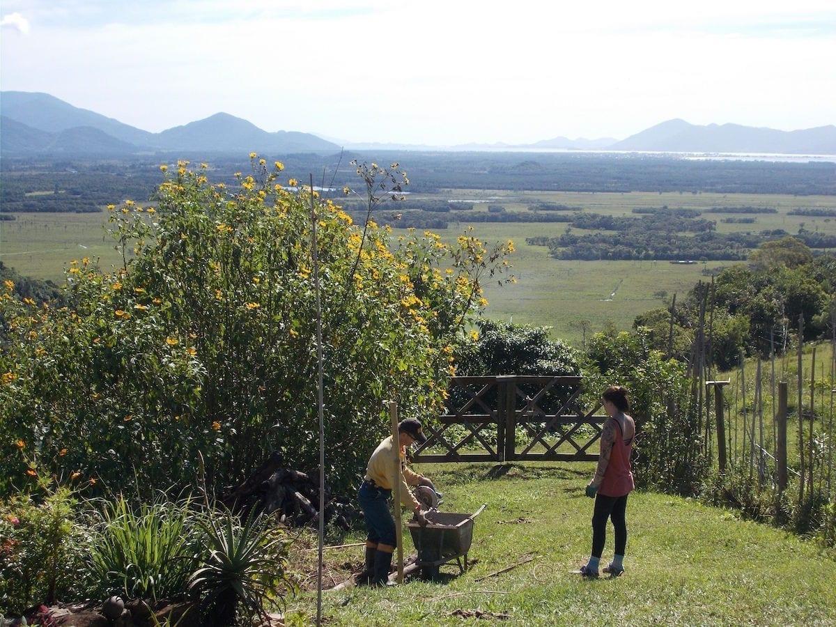 freiwilligenarbeit mit kind allein in Südamerika