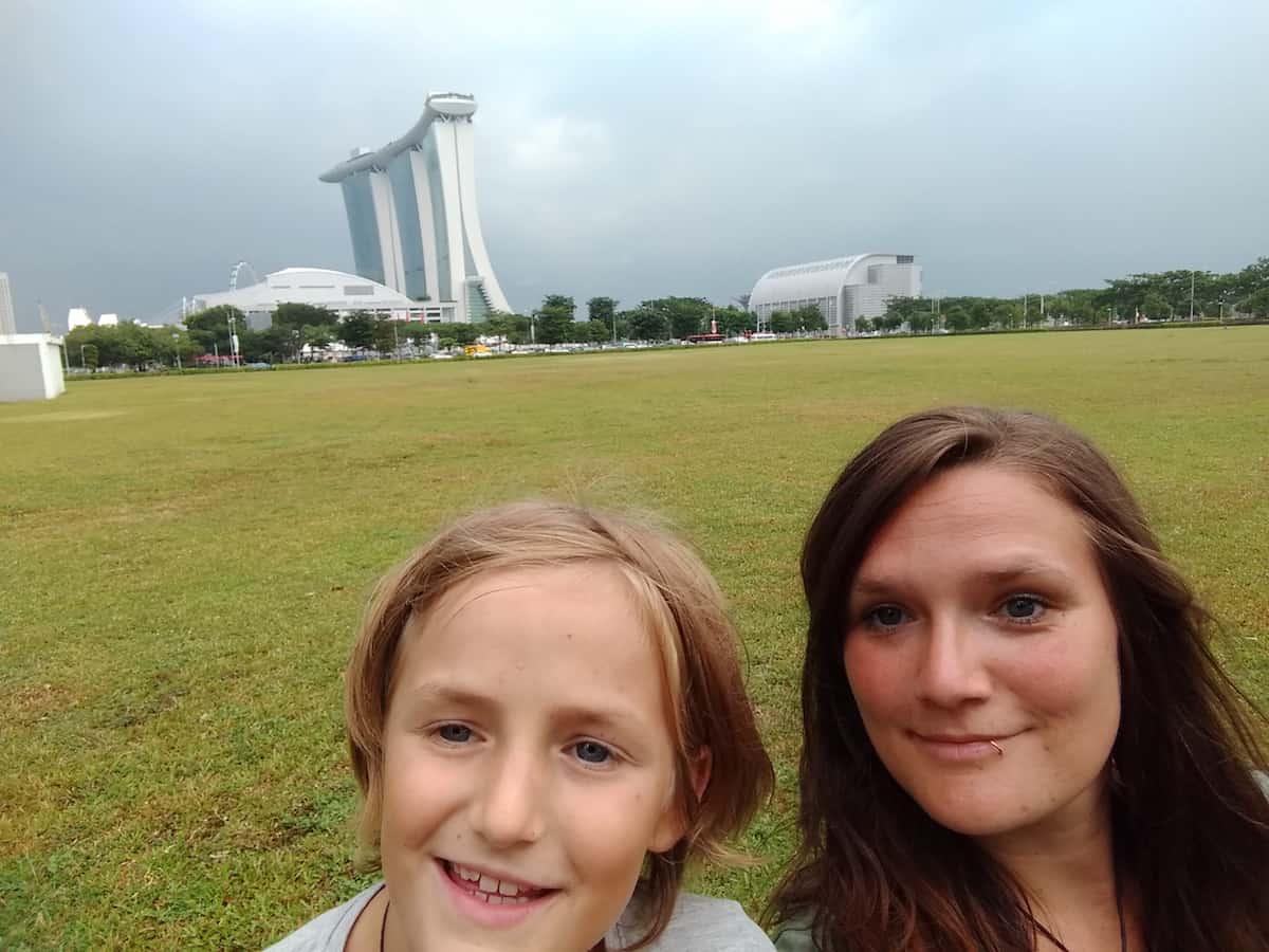 Alleinerziehend reisen nach Singapur mit Kind