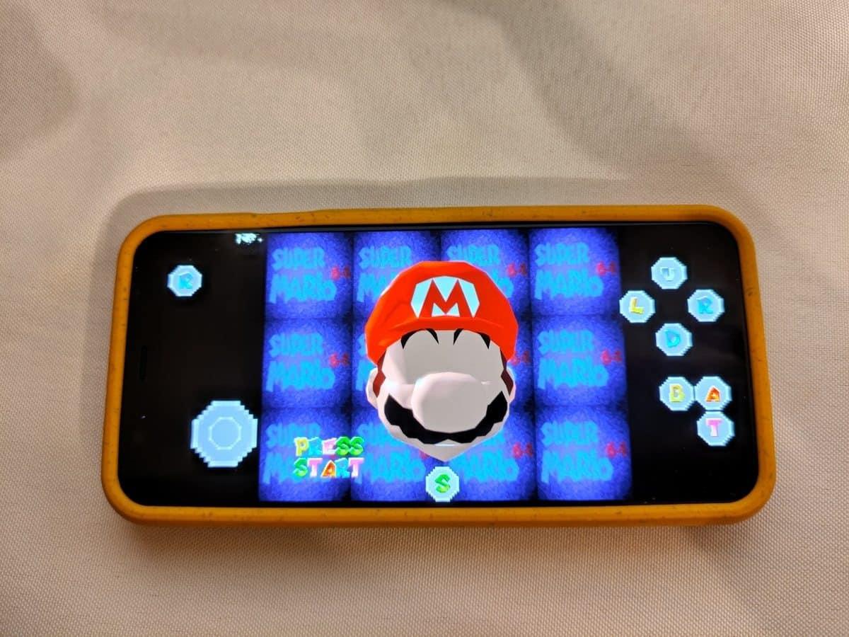Super Mario 64 Android