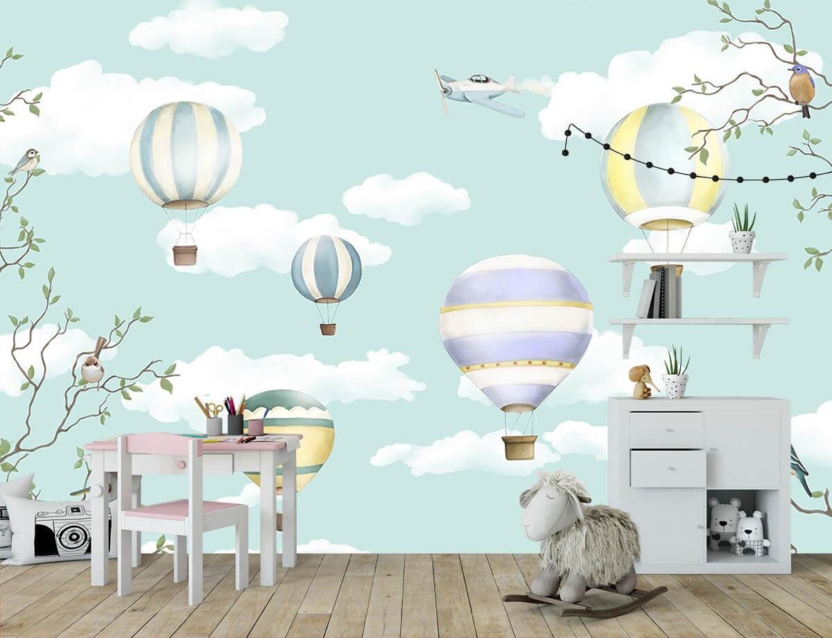 Fototapety dla dzieci Wyobraźnia Balony
