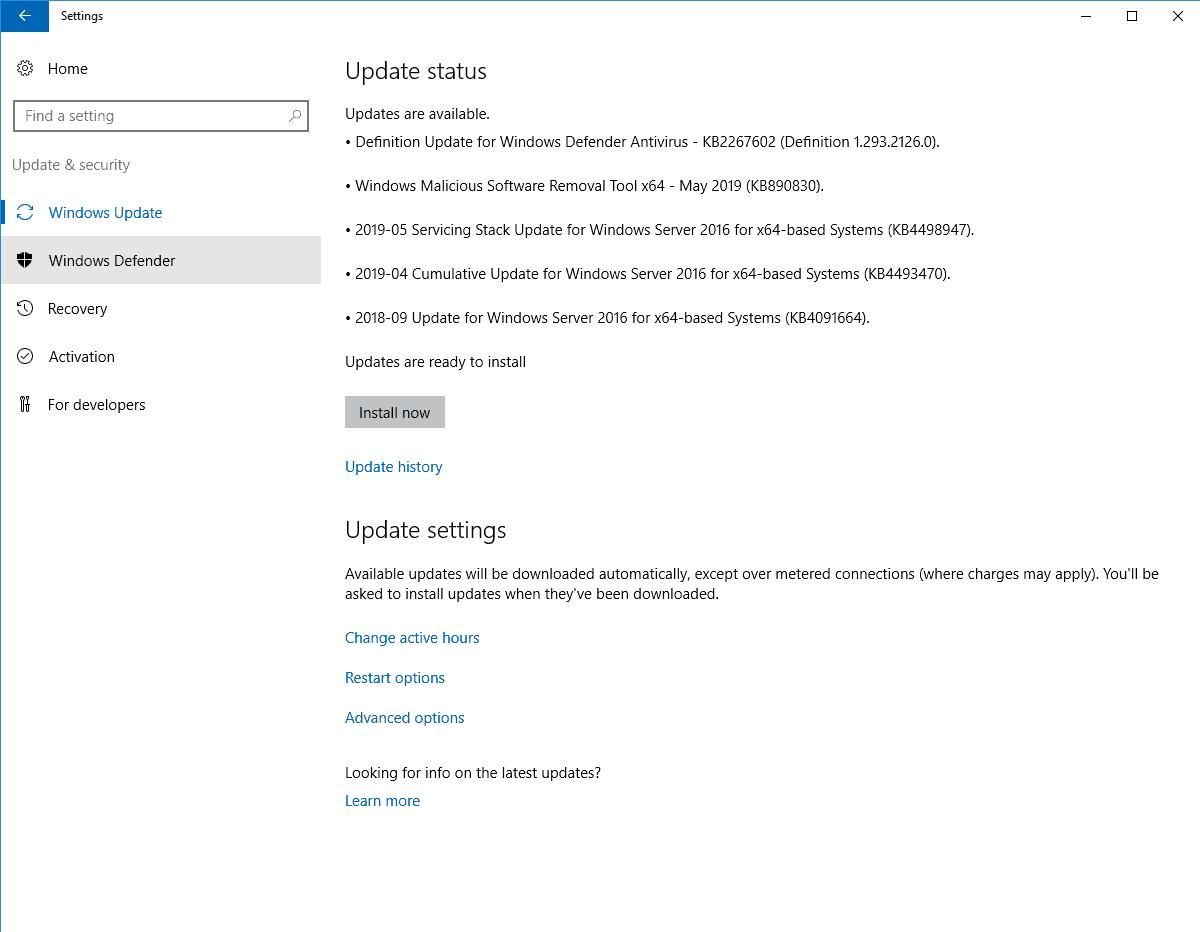 Masternode Vorbereitung - Windows Defender deinstallieren