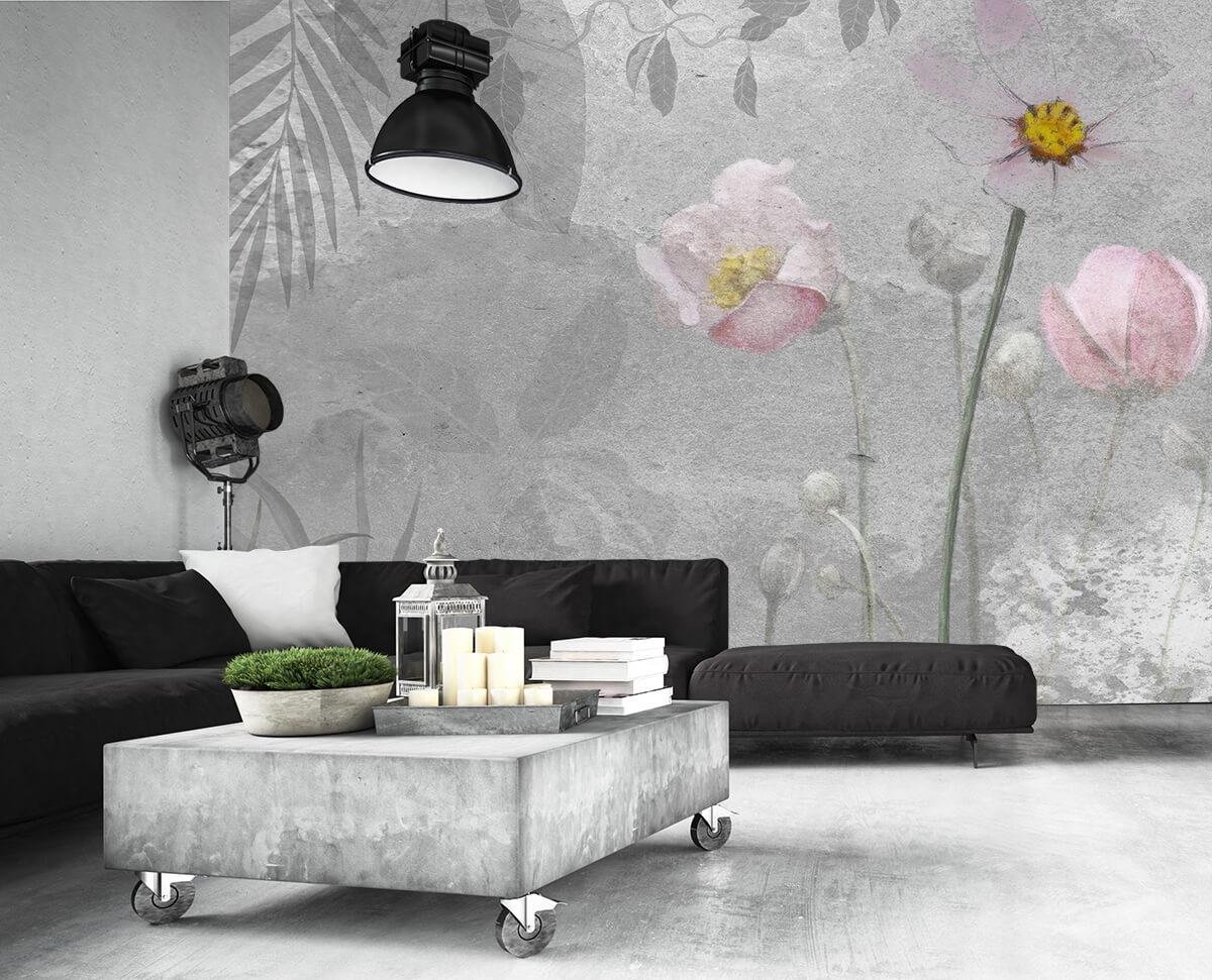 Kwiaty Liście - tapety na wymiar