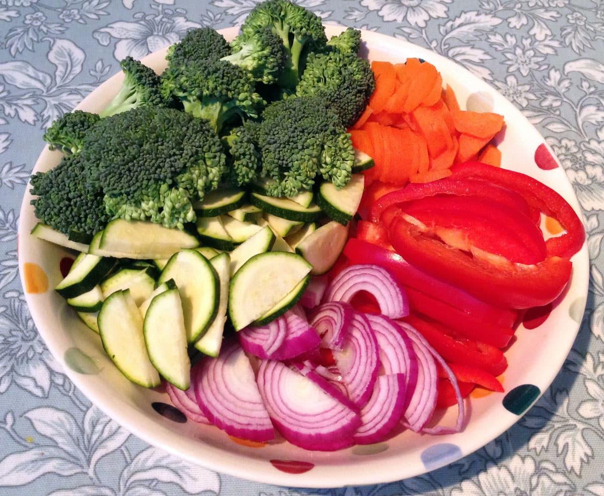 Disney Recipe Vegetables