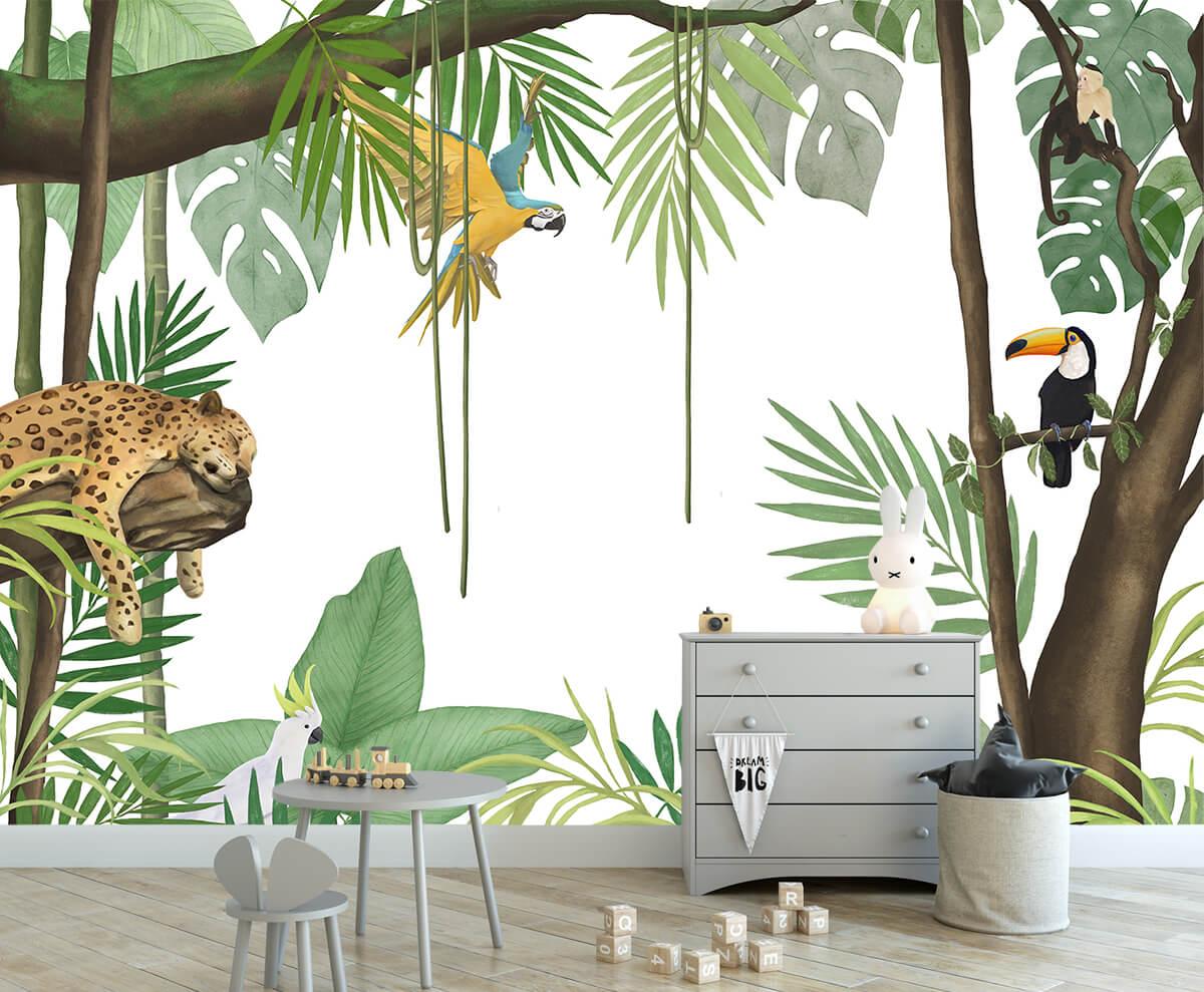 Urządzamy pokój dziecka - Fototapeta na wymiar Tajemniczy Las