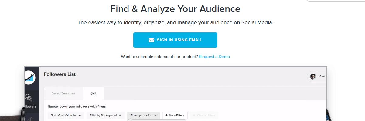 SocialRank Instagram Marketing Tool