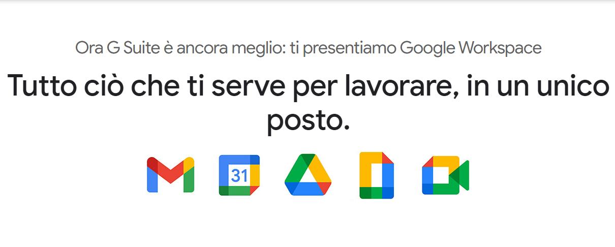 G Suite diventa Google Workspace: sfida aperta a Microsoft Office