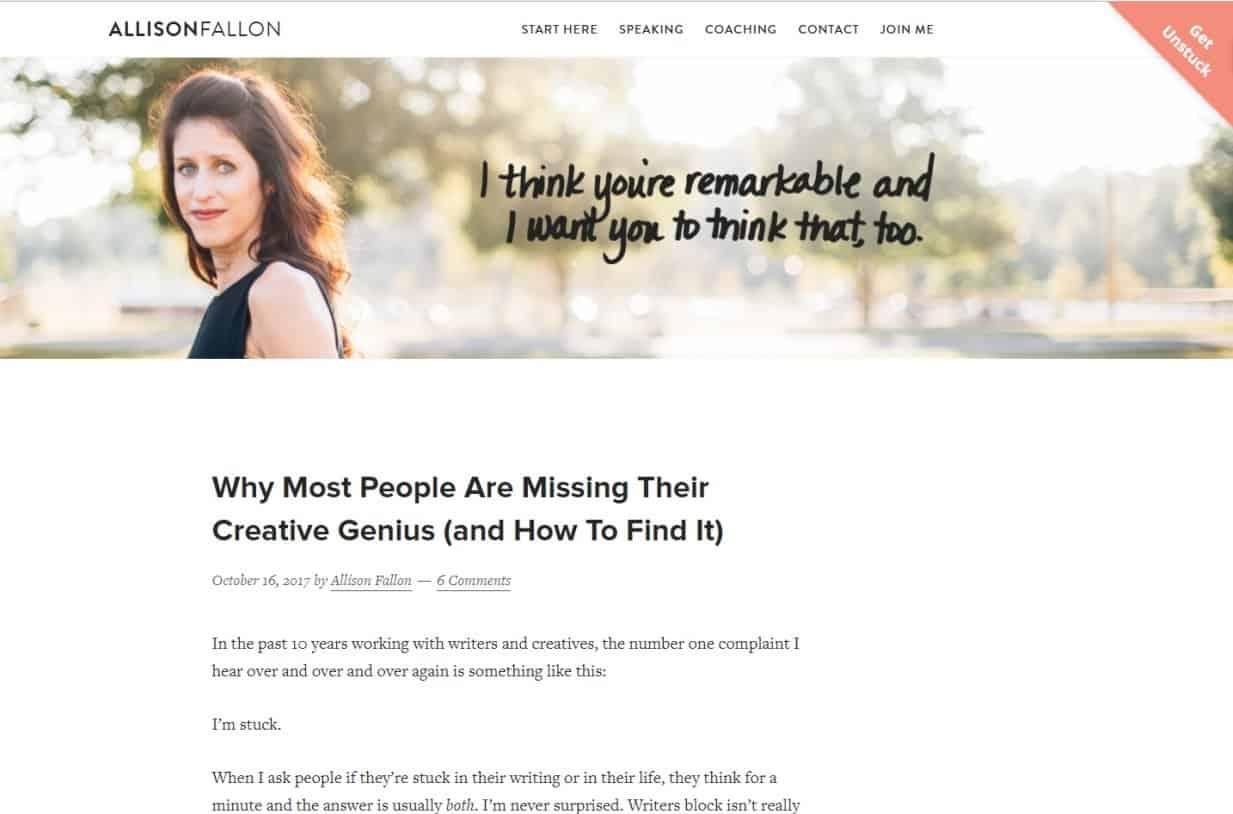 Blog Ibu Rumah Tangga Sukses Allison Fallon