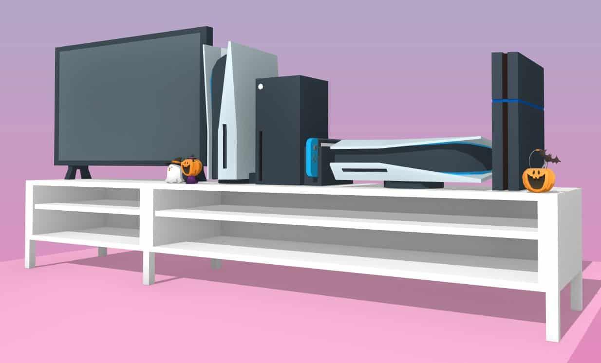 PlayStation 5 na sala