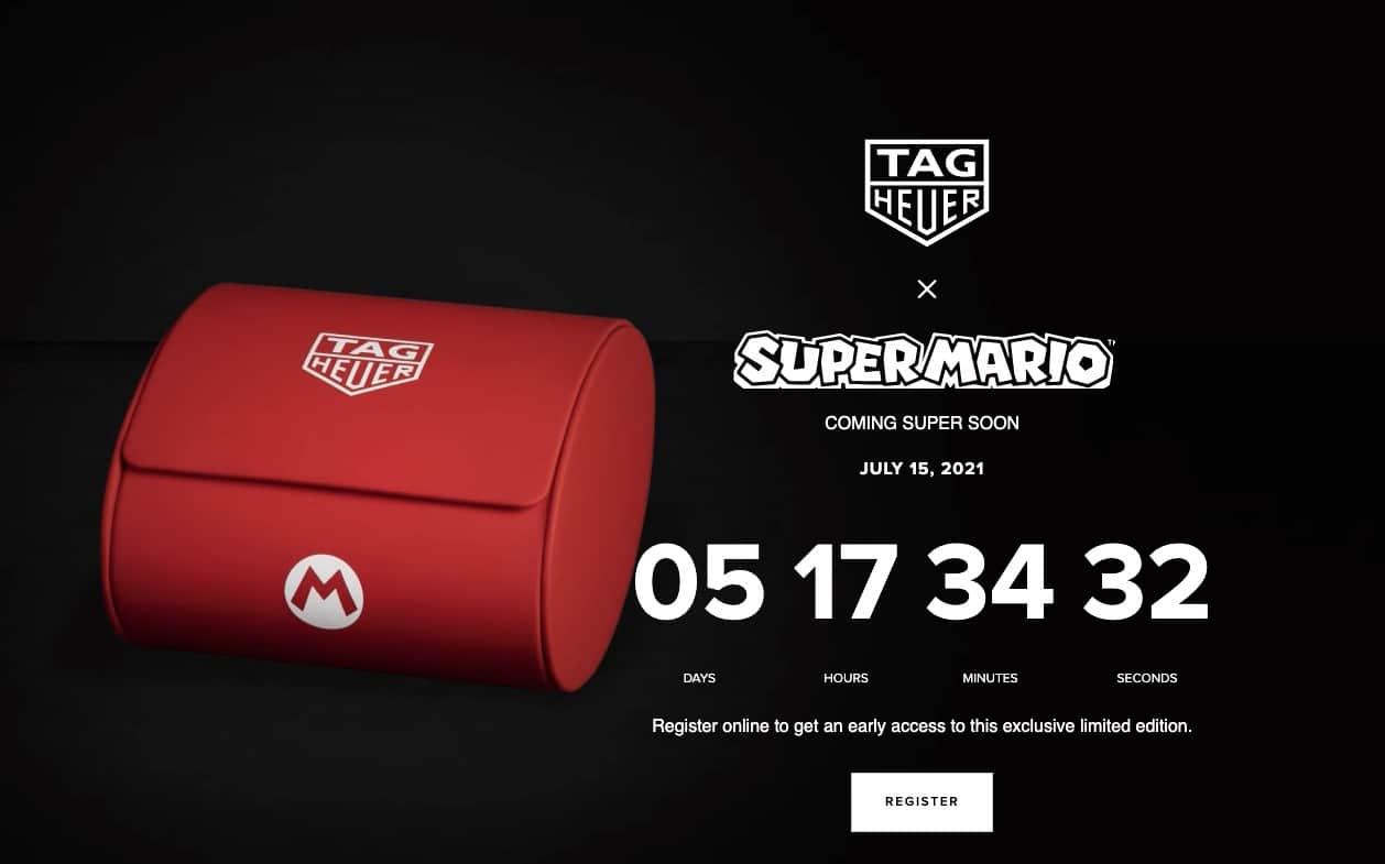 relógio Super Mário
