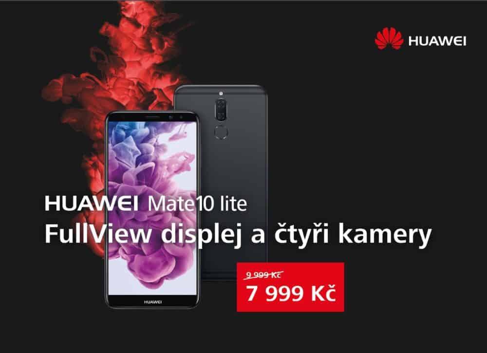 Na Mate 10 Pro získáte zpět 3000 Kč, Mate 10 lite zlevnil o 2000 Kč: Huawei