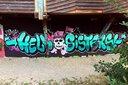 Um den Geburtstag von Lena gebührend zu feiern, haben wir von Graffiti-Stuttgart mit ihren Gästen ein cooles Graffiti an der Außenwand vom Camp Feuerbach gemalt.