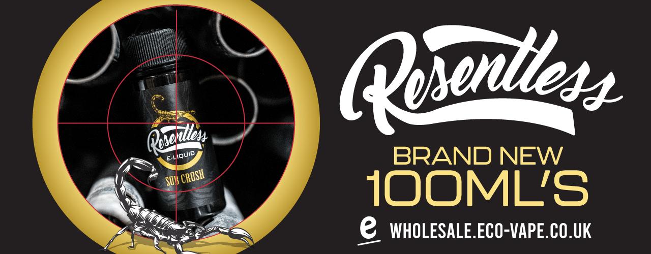 resentless brand banner