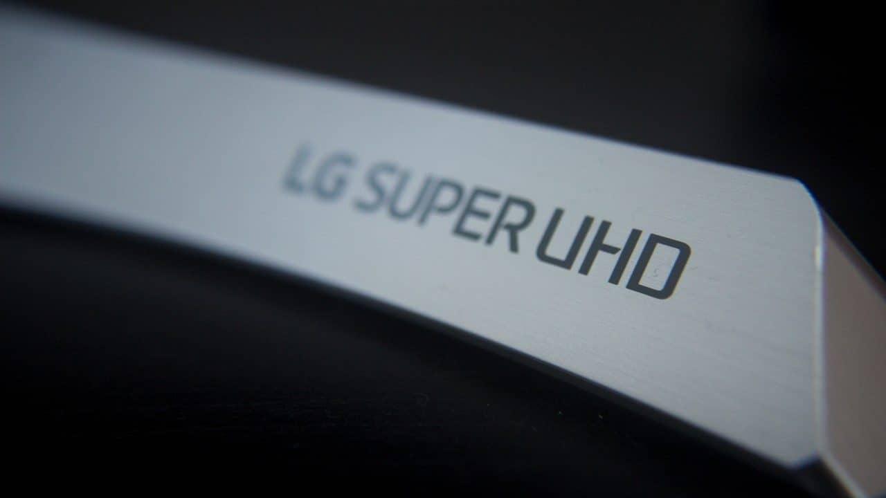Base da LG Super UHD 55SJ85