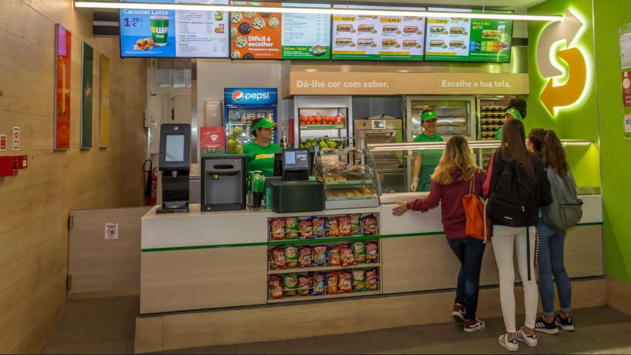 restaurante Subway