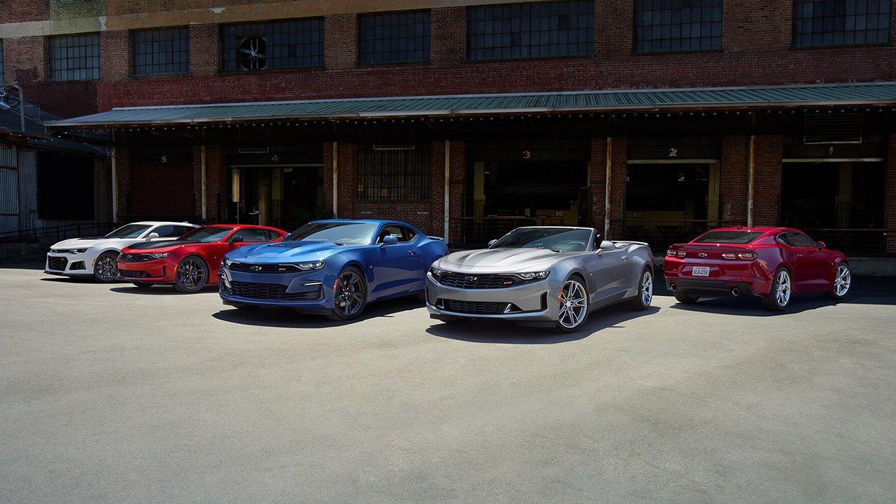 2021 Chevrolet Camaro price list