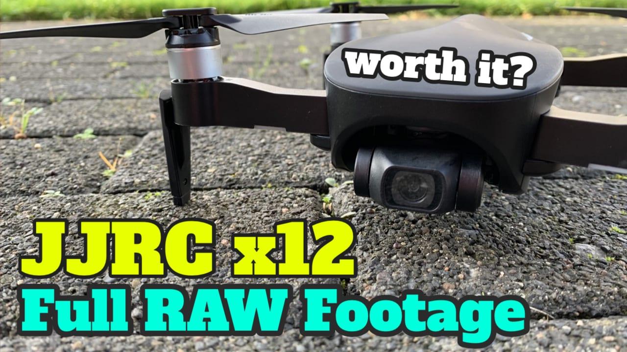 JJRC X12 Aurora 4k Footage & Test – gute Drohne mit Gimbal unter 300€