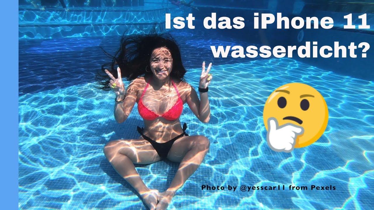 Ist das iPhone 11 wasserdicht?