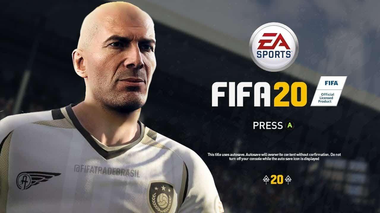 FIFA 20 não