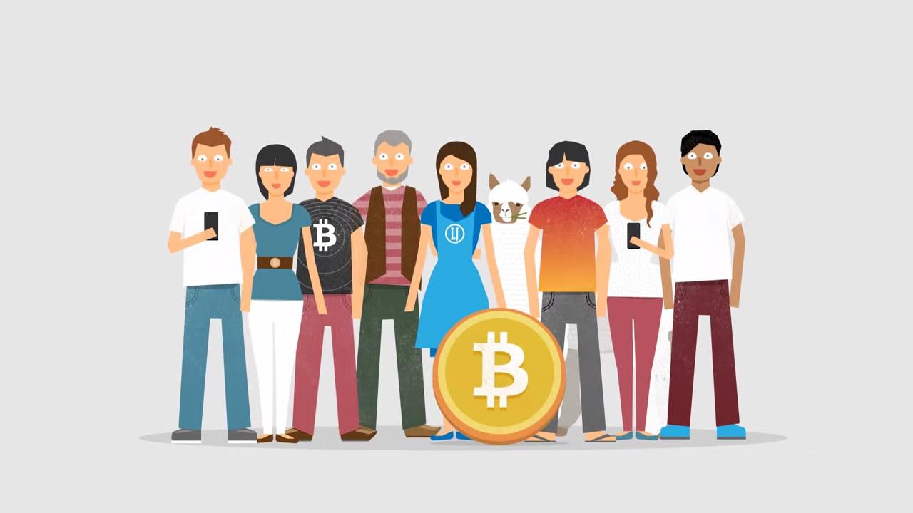 Handel mit Bitcoins