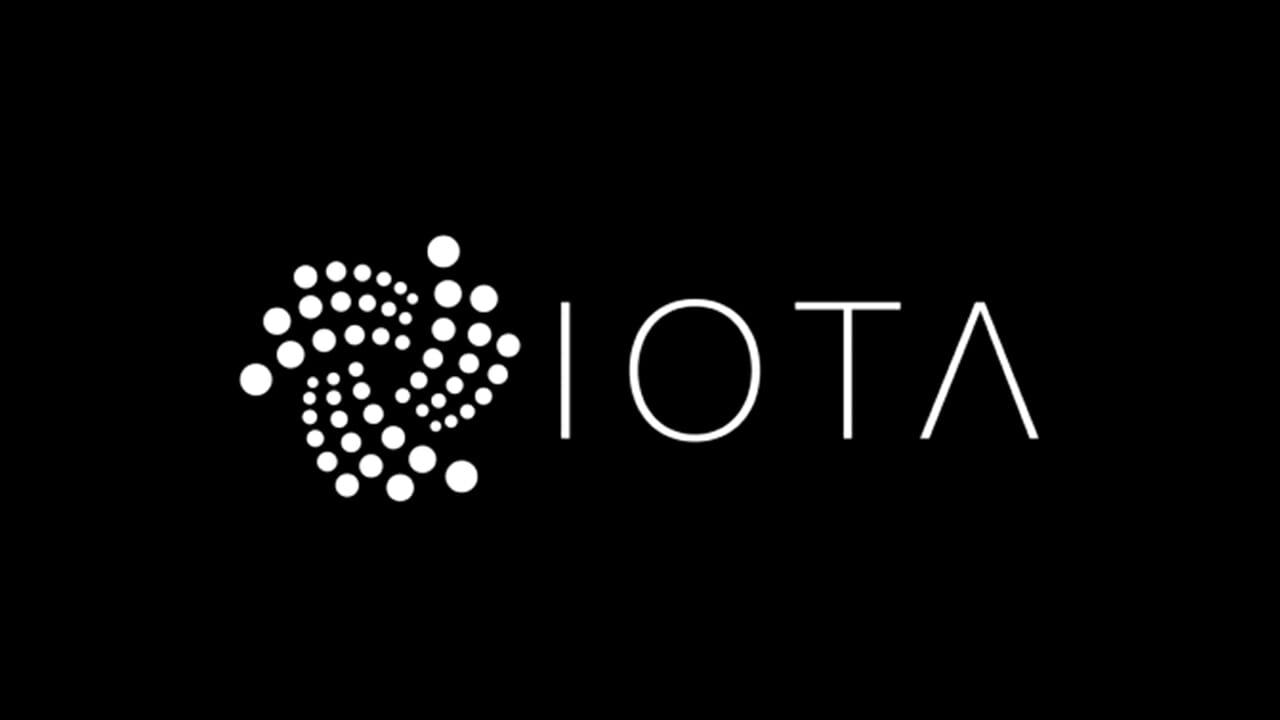 Kryptowährung IOTA (IOT) Logo