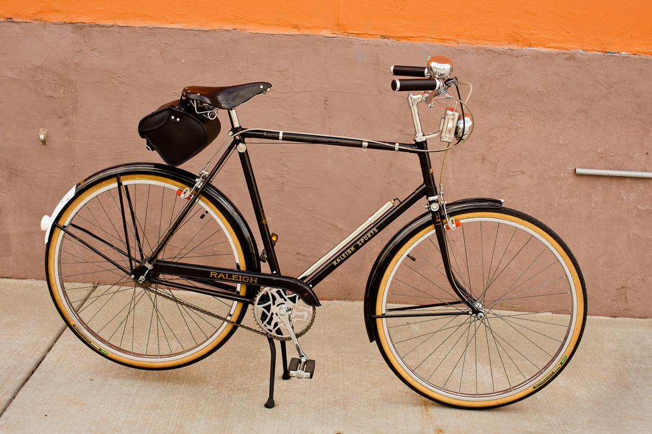 Vélo anglais Raleigh
