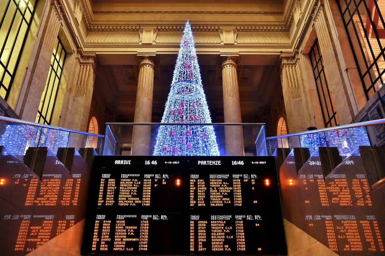 Villaggio di Natale Stazione Centrale