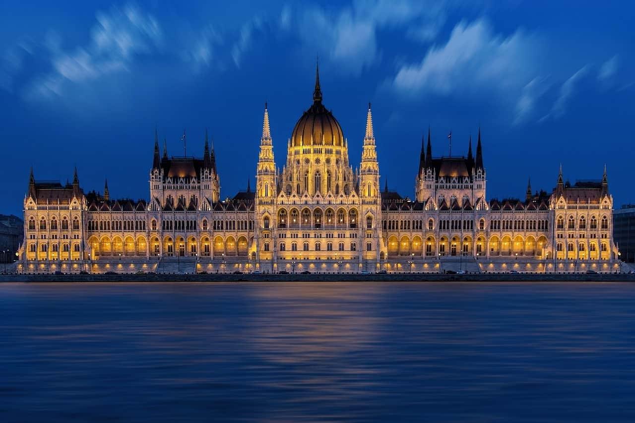 Parlamento Hungaro en Budapest