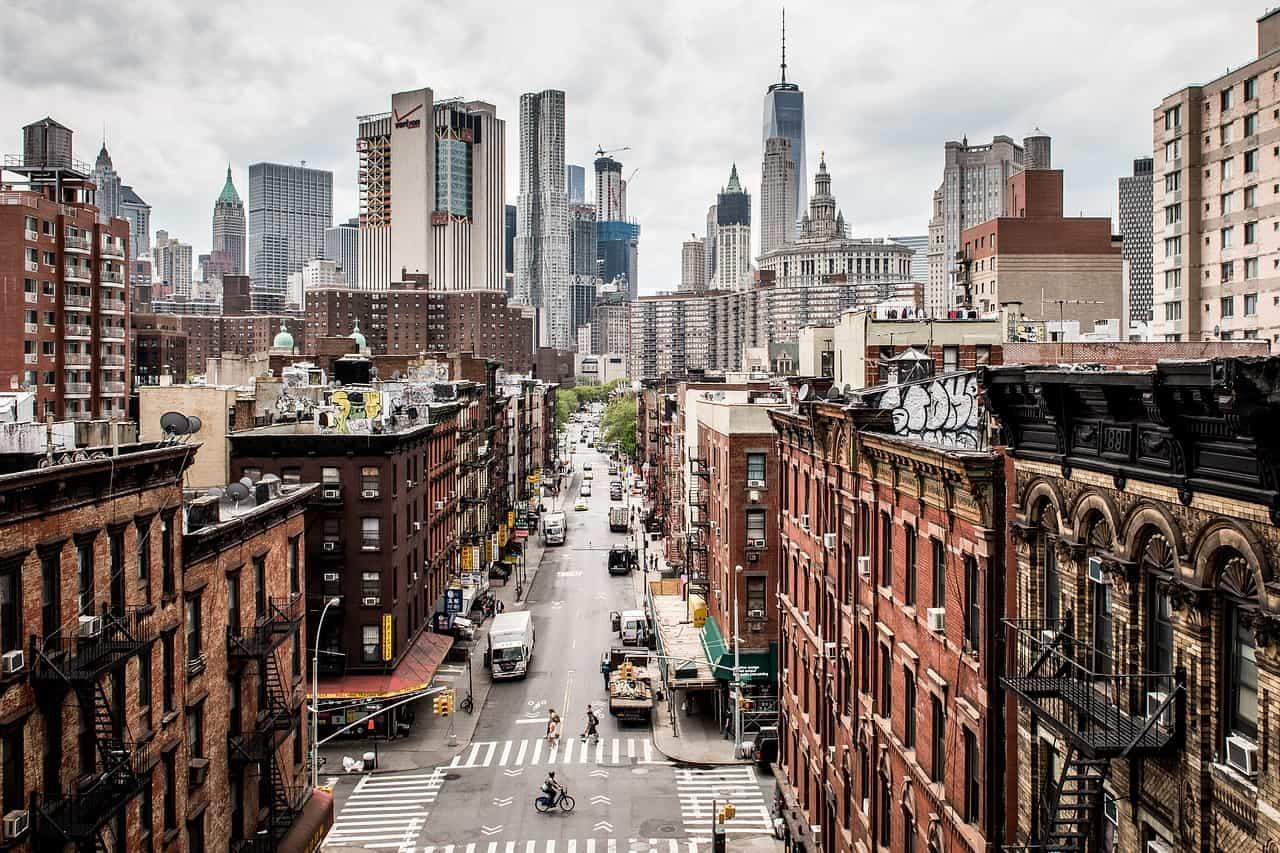 New York city view