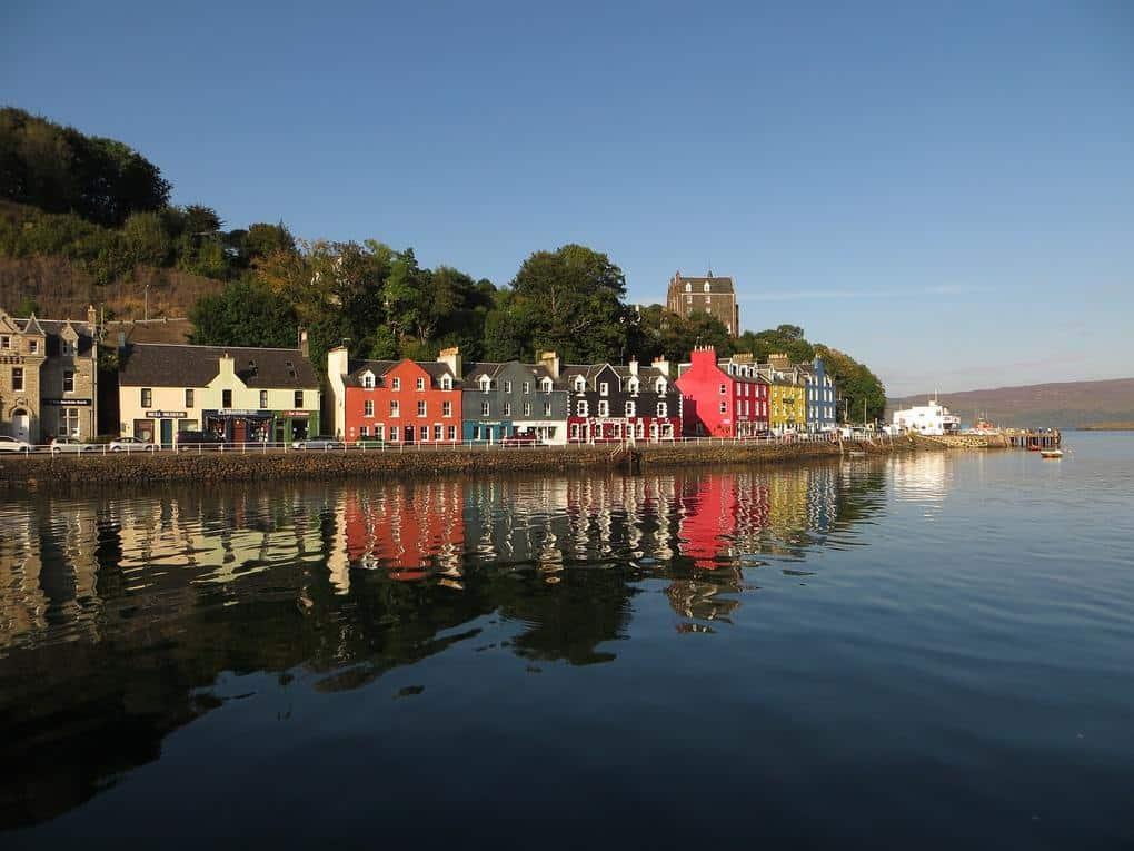 tobermory-Isle of Mull Scotland