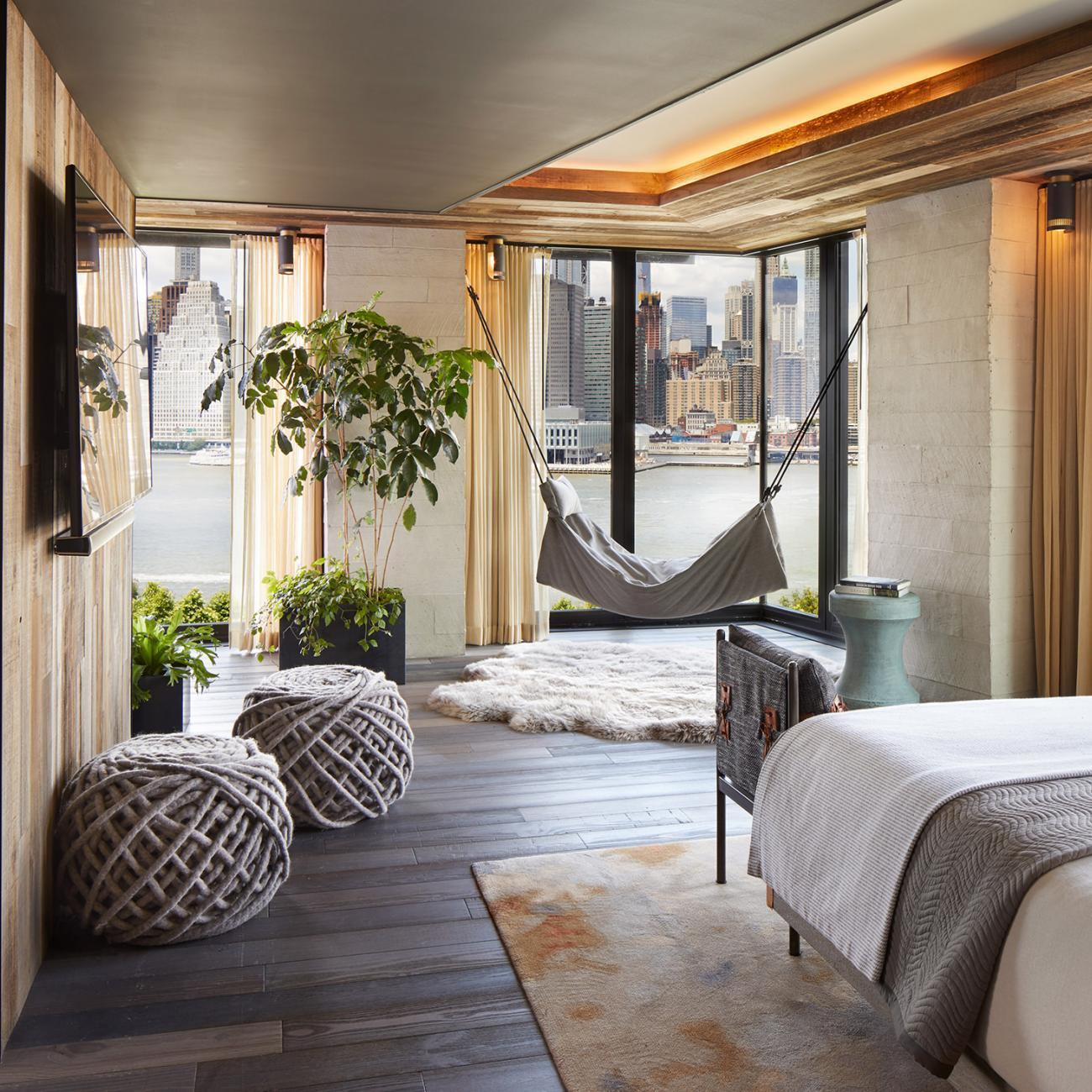 1 Hotel Brooklyn Bridge Zimmeransicht