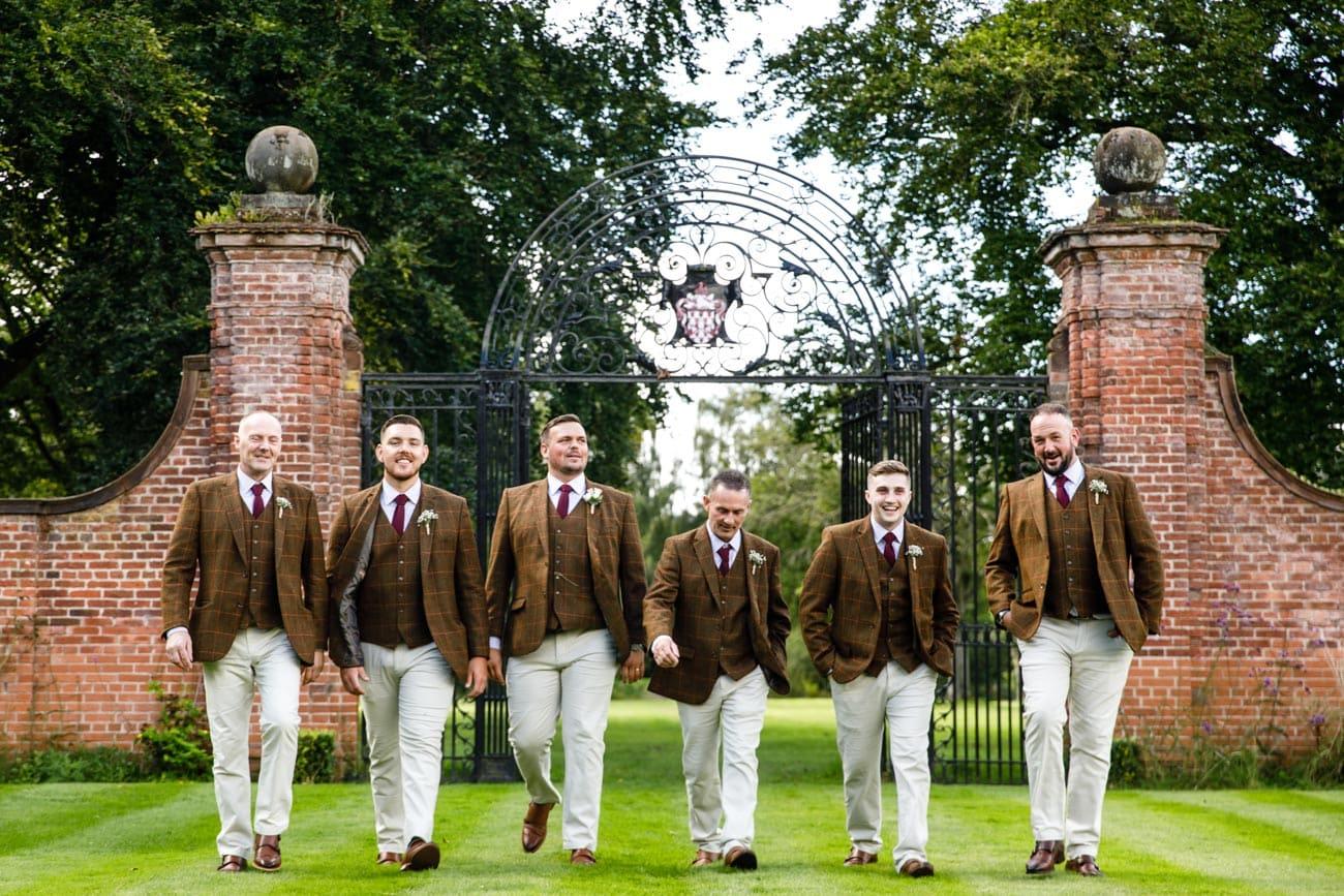 groomsmen at inglewood manor