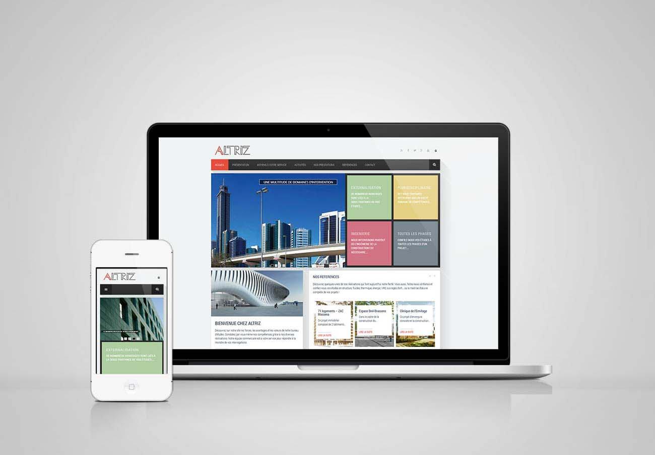 création site web bureau d'étude