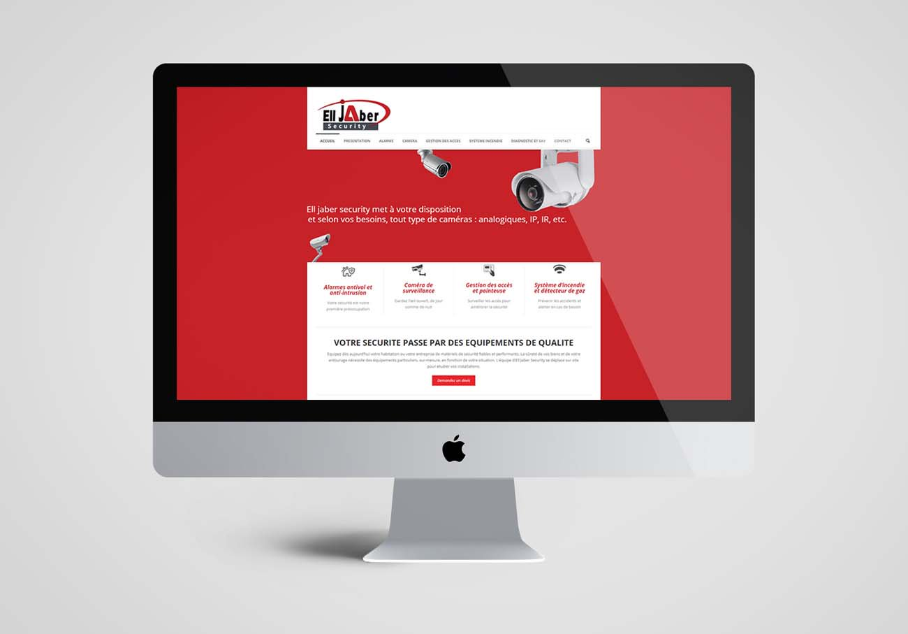 création site web bureau d'étude en sécurité