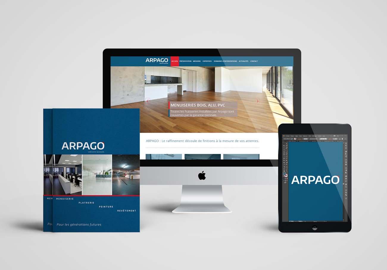 création site web menuiseries