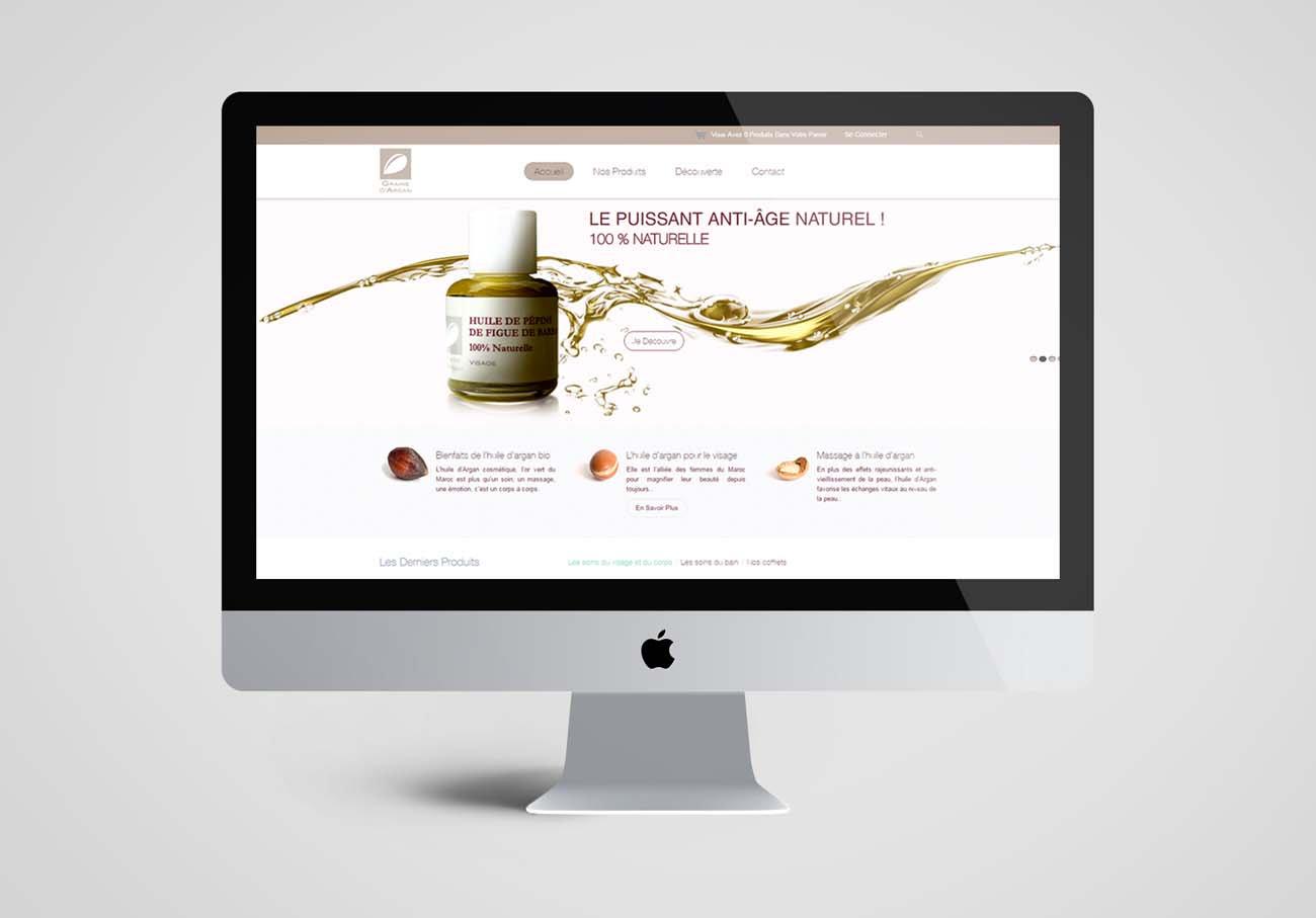 création le site e-commerce