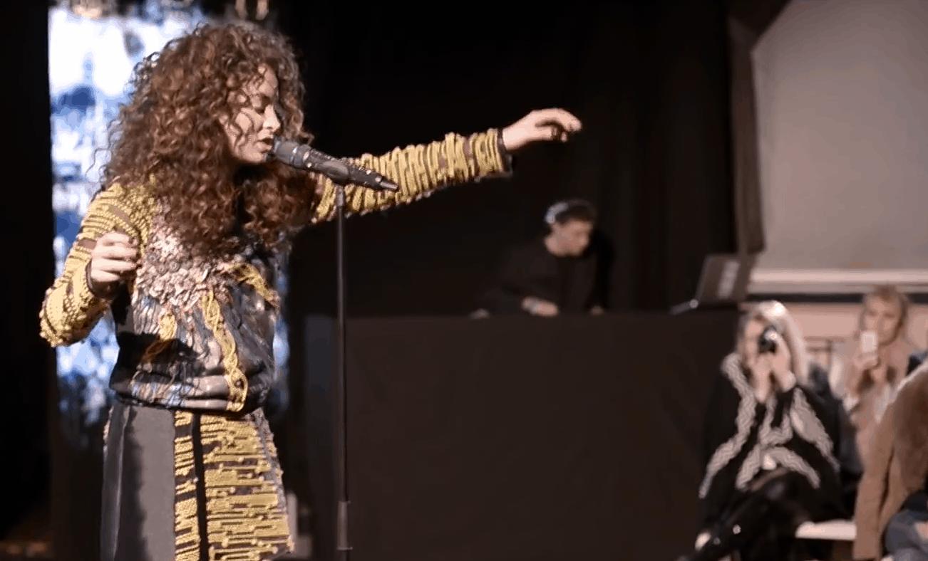 Ella Eyre & DJ Glu Sound - London Fashion Week - Gyunel