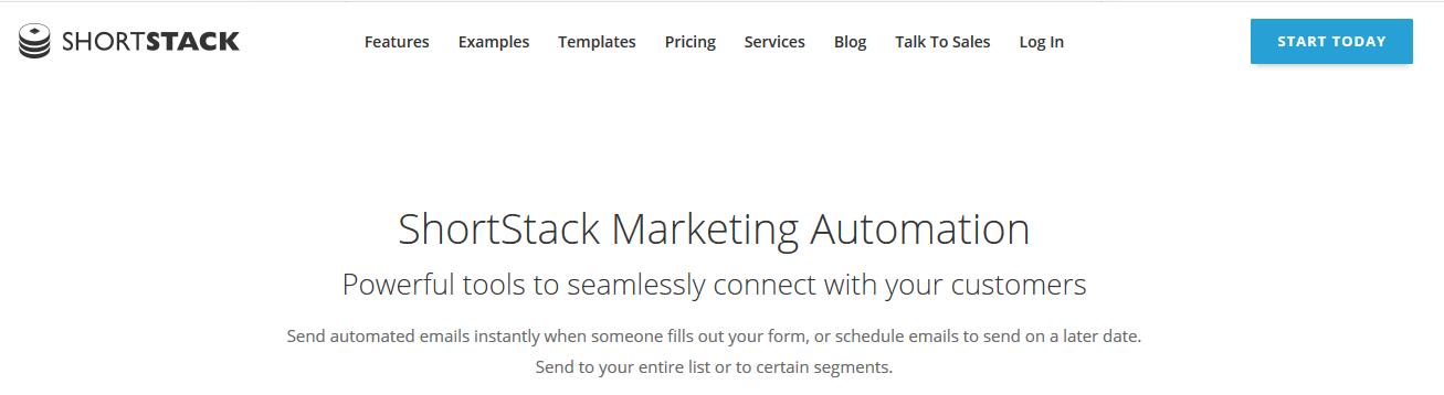 ShortStack Email Marketing Automation