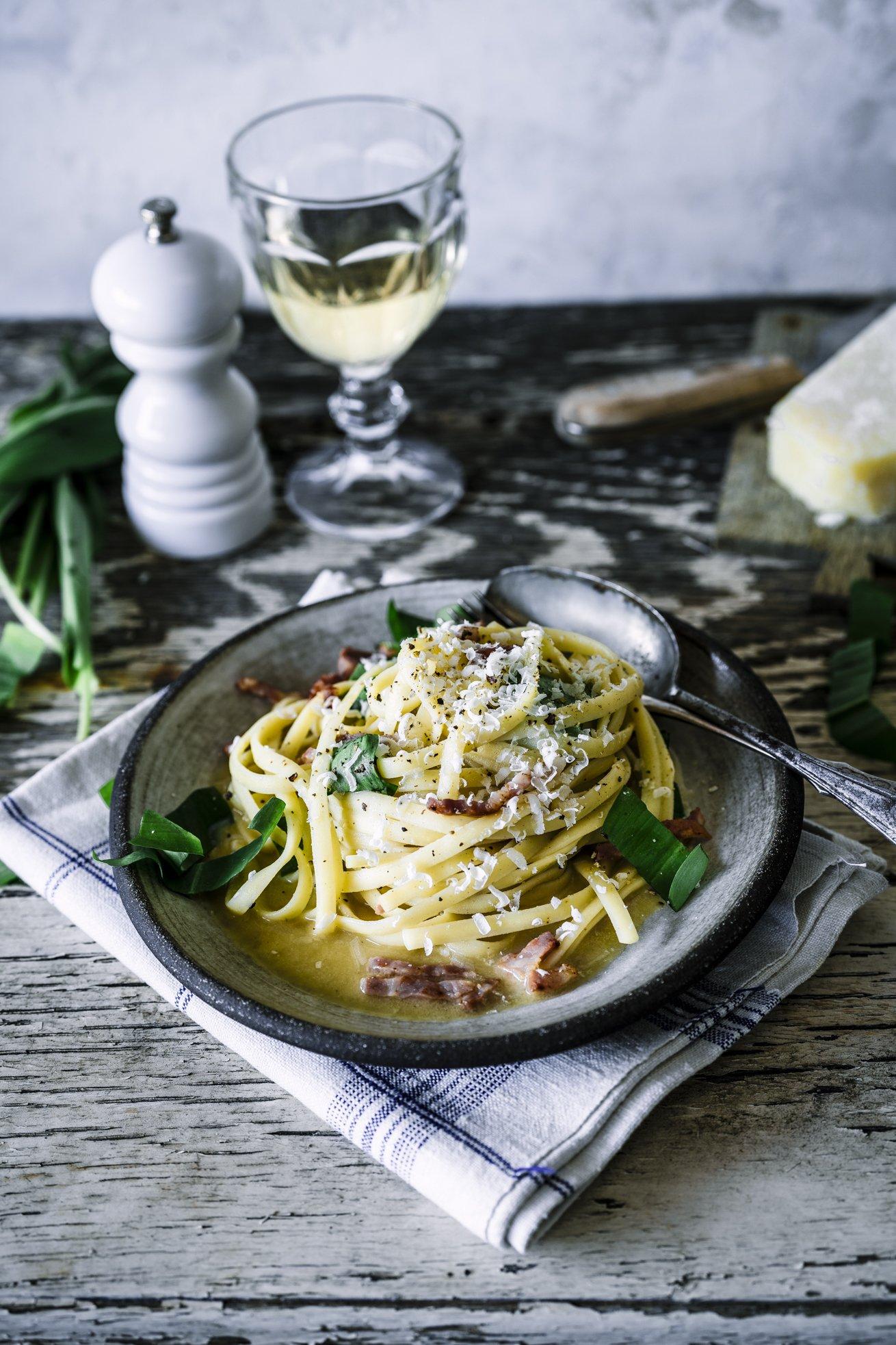 Bärlauch Pasta Carbonara