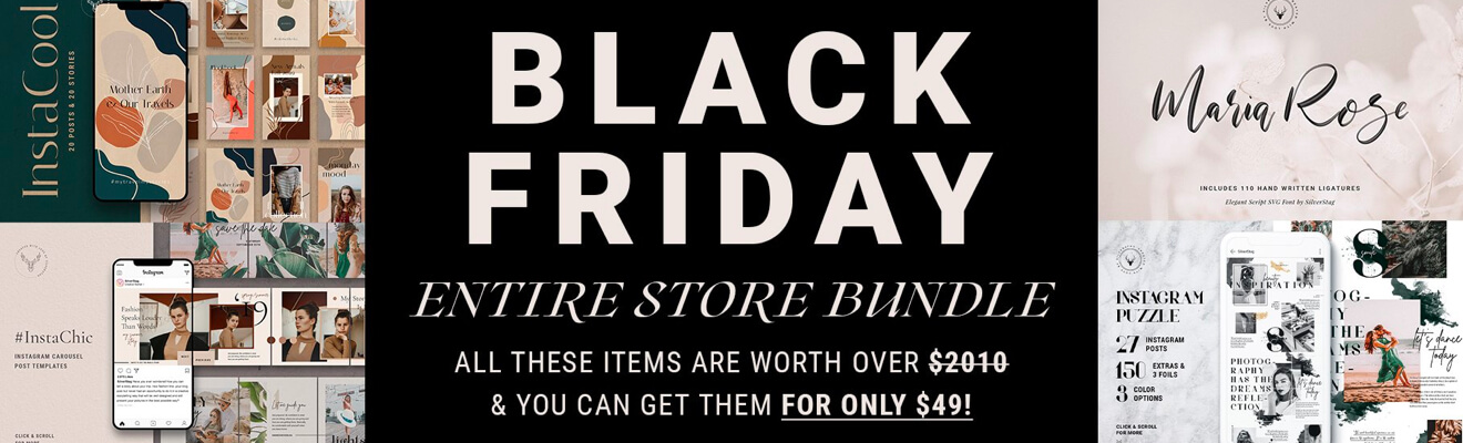 Black Friday - 98% OFF Entire Store
