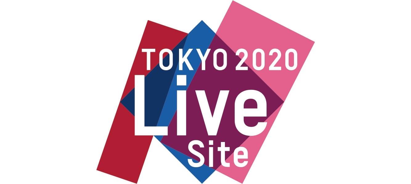 Logo Live Sites - Sitios En Vivo de Tokio 2020