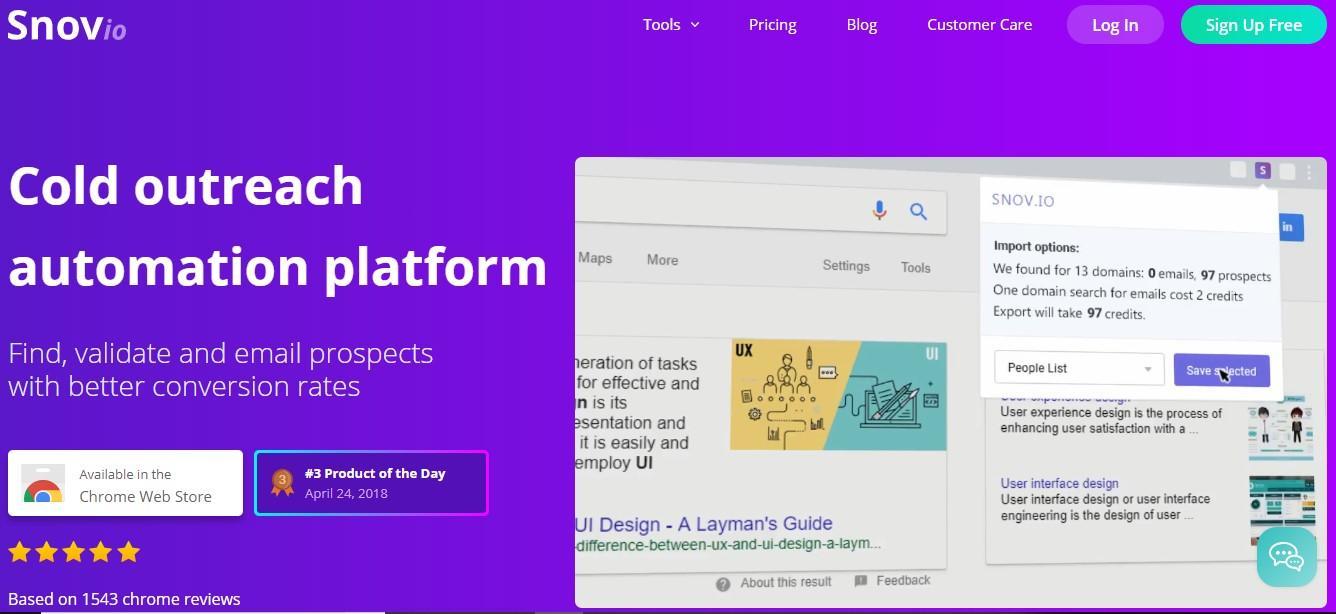 Cold outreach automation platform