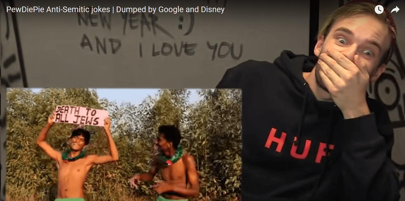 Swedish YouTuber PewDiePie Influencer Marketing Fails