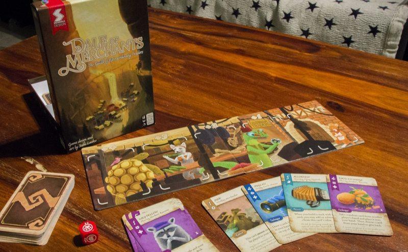 dale of merchants review game box