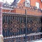 кованые ворота 10