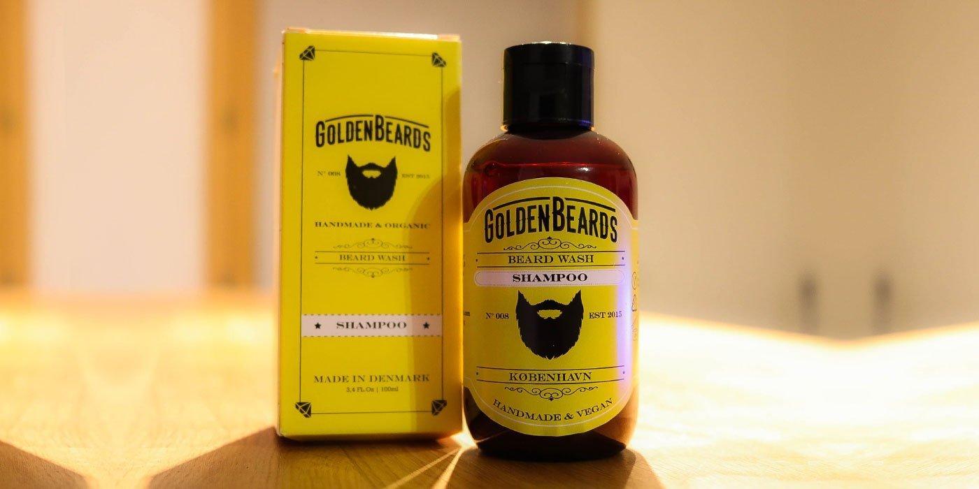 golden beards shampoing et adoucissant