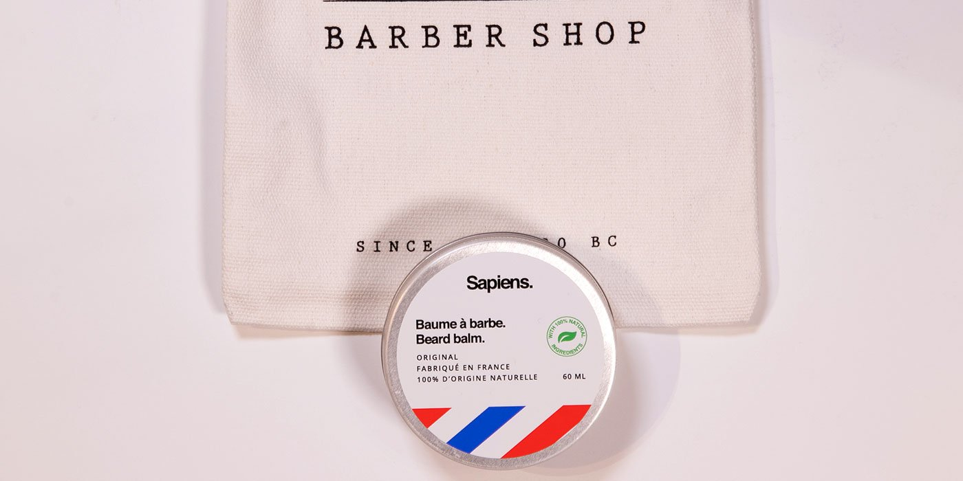 sapiens baume à barbe
