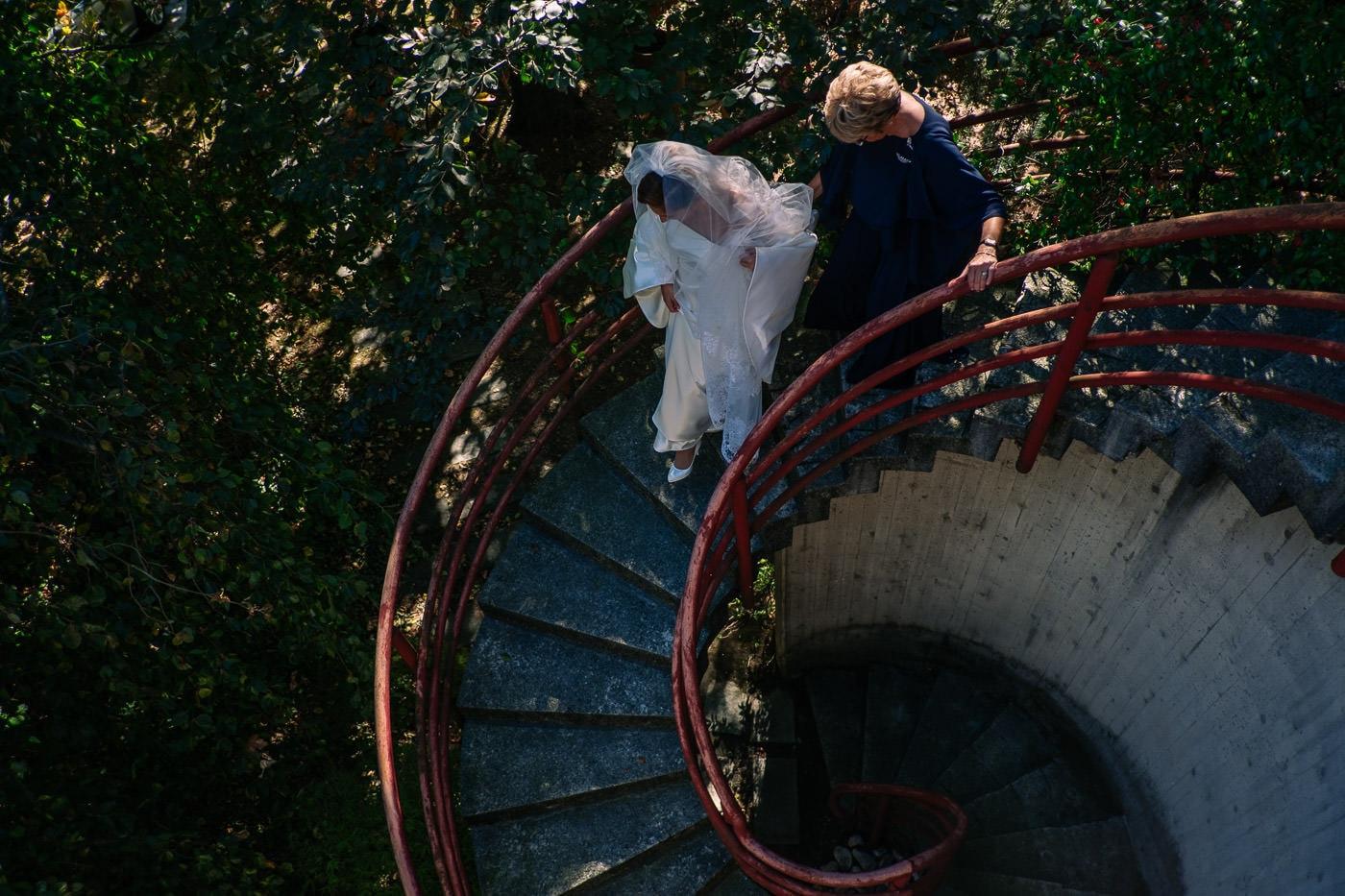 reportage sposa scale matrimonio_castello durini